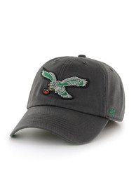 Philadelphia Eagles 47 Charcoal 47 Franchise Fitted Hat