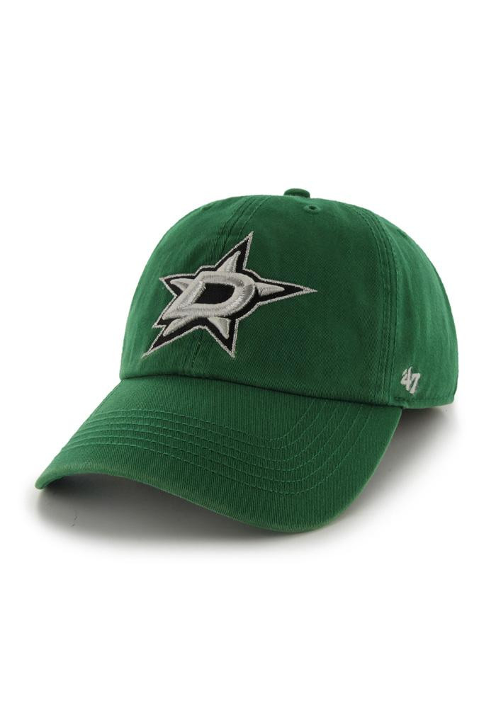 '47 Dallas Stars Mens Green 47 Franchise Fitted Hat - Image 1