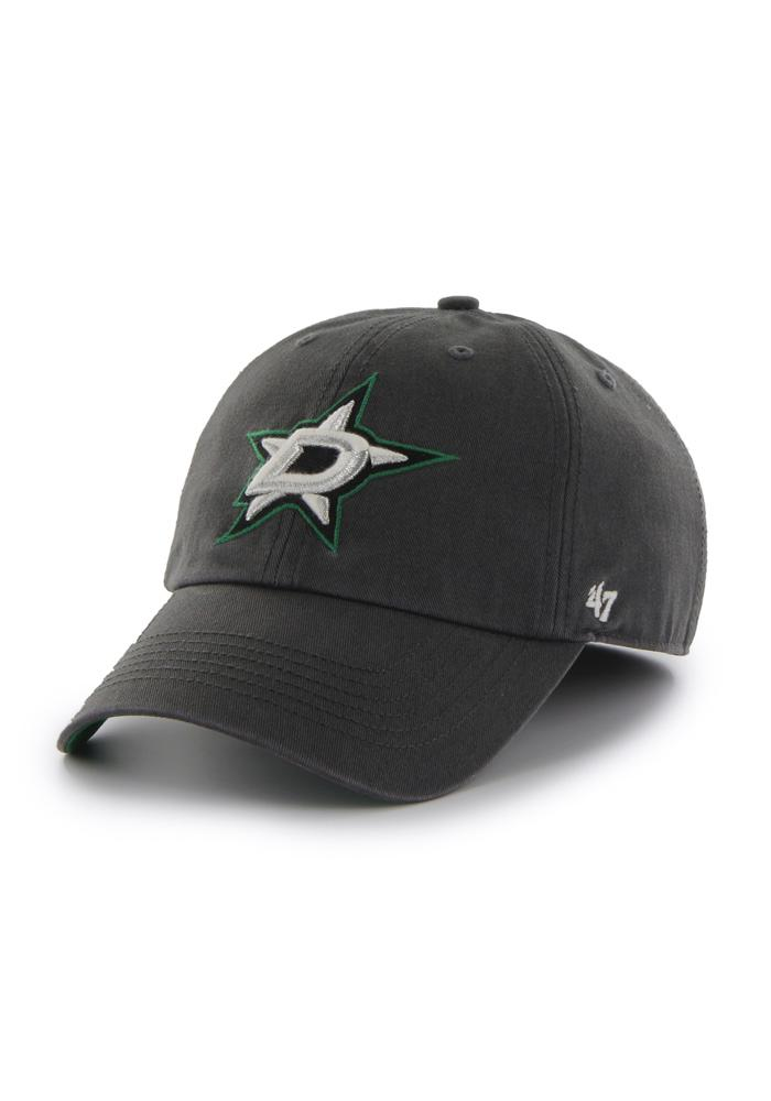 '47 Dallas Stars Mens Grey 47 Franchise Fitted Hat - Image 1