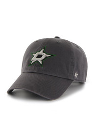 '47 Dallas Stars Clean Up Adjustable Hat - Charcoal