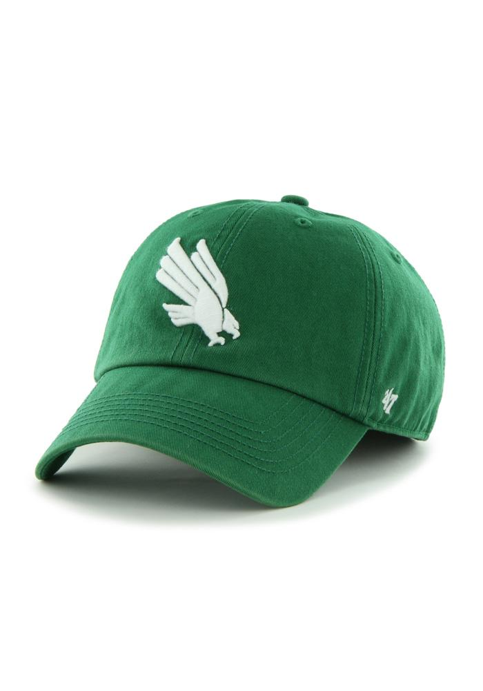 '47 North Texas Mean Green Mens Green Franchise Fitted Hat - Image 1