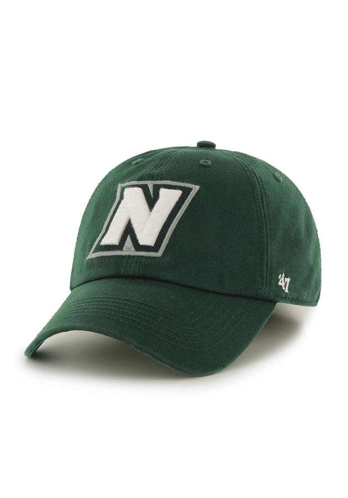 '47 Northwest Missouri State Bearcats Mens Green 47 Franchise Fitted Hat - Image 1