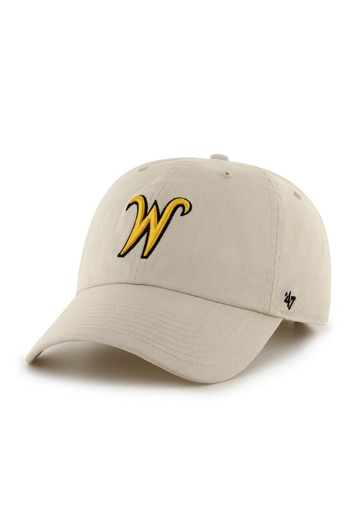 '47 Wichita State Shockers Mens Brown Clean Up Adjustable Hat - Image 1
