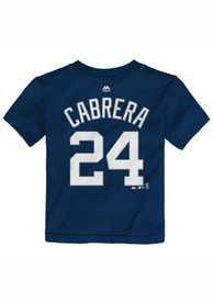 Miguel Cabrera Detroit Tigers Toddler Navy Blue Player Player Tee