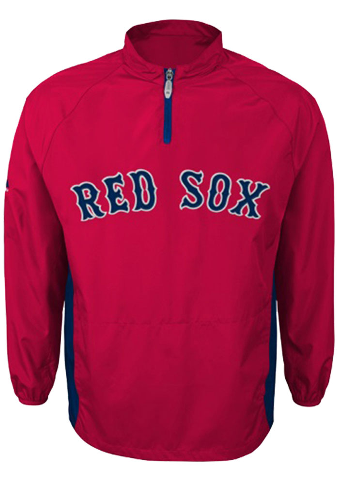 Boston Red Sox Youth Red Triple Peak Light Weight Jacket - Image 1