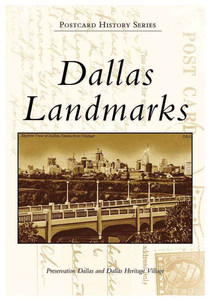 Dallas Ft Worth Postcard Landmark History Book - Image 1
