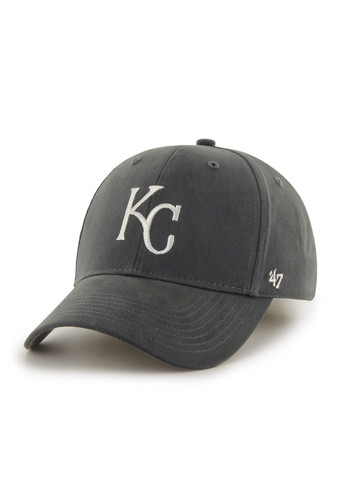 '47 Kansas City Royals Baby Basic MVP Adjustable Hat - Grey - Image 1
