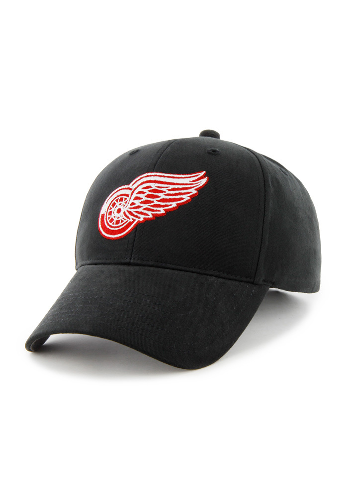 47 Detroit Red Wings Baby Basic MVP Adjustable Hat - Black - Image 1