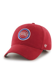 Detroit Pistons Baby 47 Basic MVP Adjustable Hat - Red