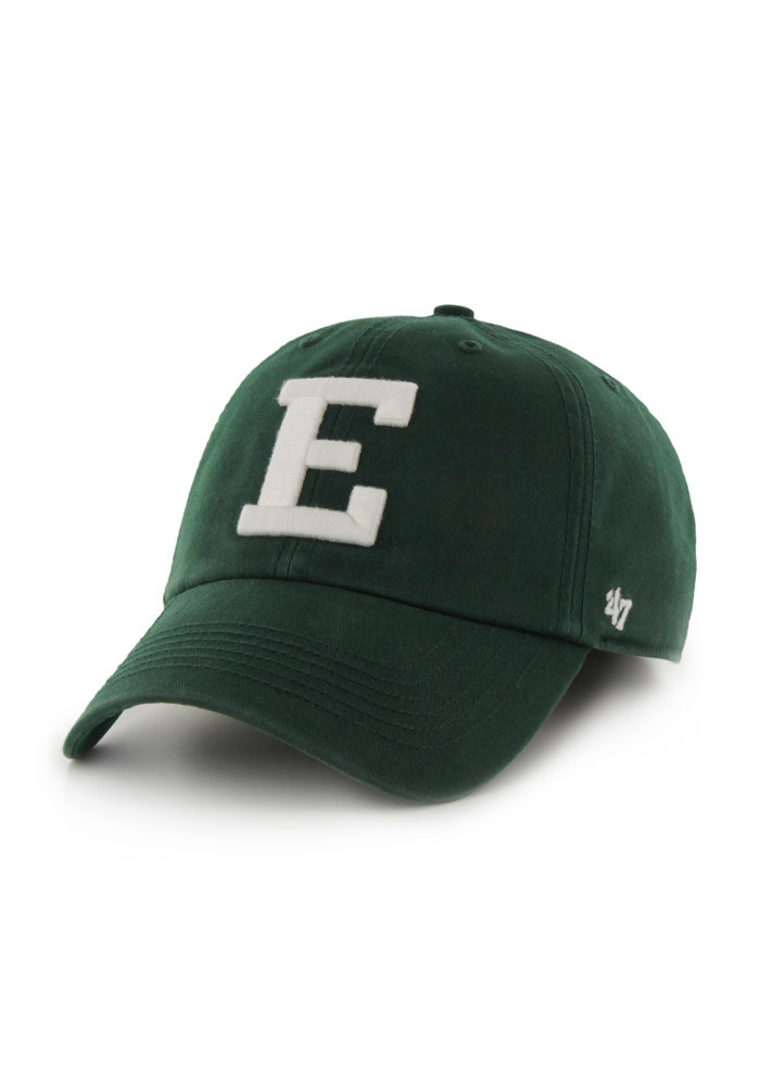'47 Eastern Michigan Eagles Mens Green 47 Franchise Fitted Hat - Image 1