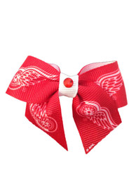 Detroit Red Wings Red Pet Bow