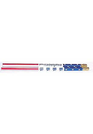 Colonial Red White Blue Pencil Pencil