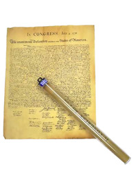 Colonial Decloration of Independence Rolled Tube