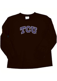 TCU Horned Frogs Baby Black Arch T-Shirt