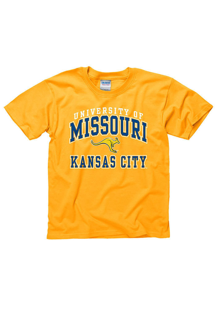 UMKC Roos Kids Gold Arch Short Sleeve T-Shirt - Image 1