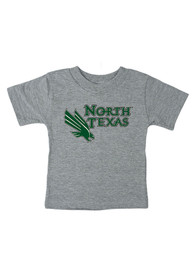 North Texas Mean Green Infant Big Logo T-Shirt - Grey