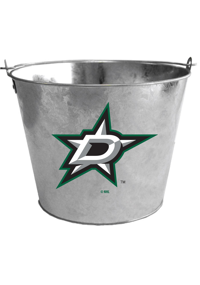 Dallas Stars 5qt Galvanized Bucket - Image 1