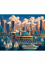 Chicago Navy Pier Puzzle