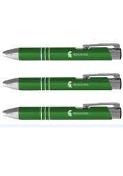 Michigan State Spartans 3 Pack Ball Point Pen