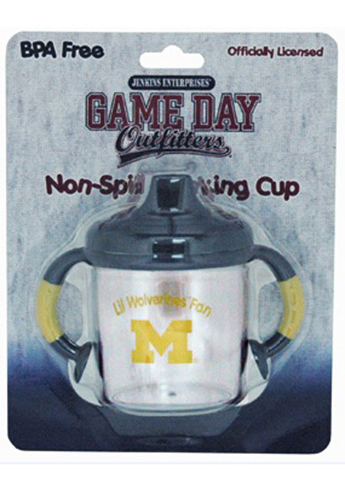 Michigan Wolverines No Spill Baby Bottle - Image 1