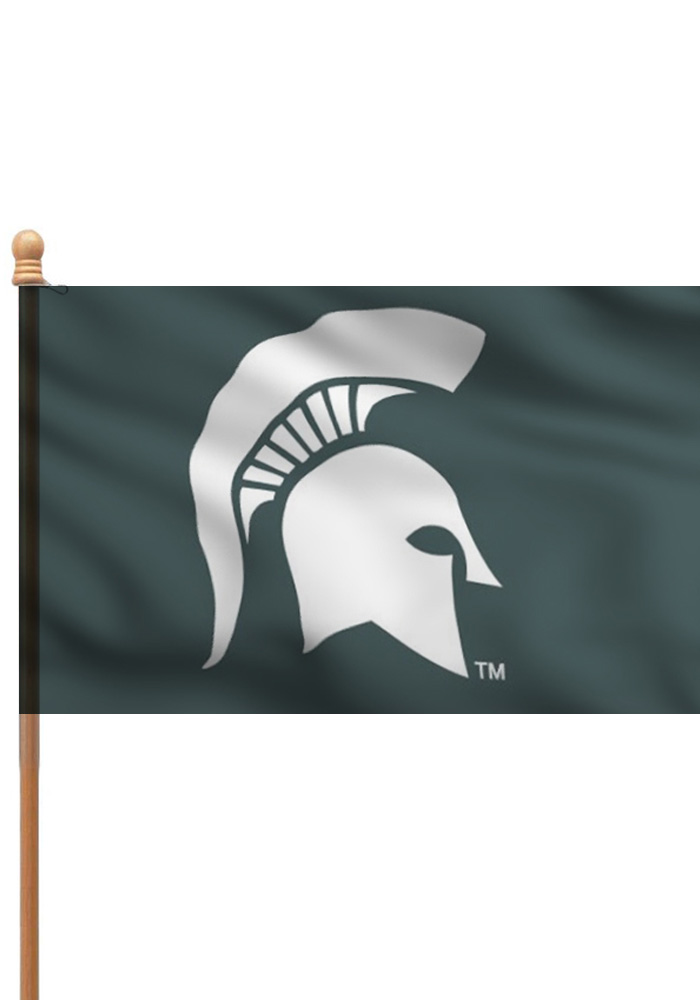 Michigan State Spartans 3x5 Silk Screen Sleeve - Image 1