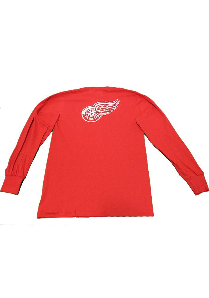 Majestic Detroit Red Wings Red Rally Loud Long Sleeve T Shirt - Image 3