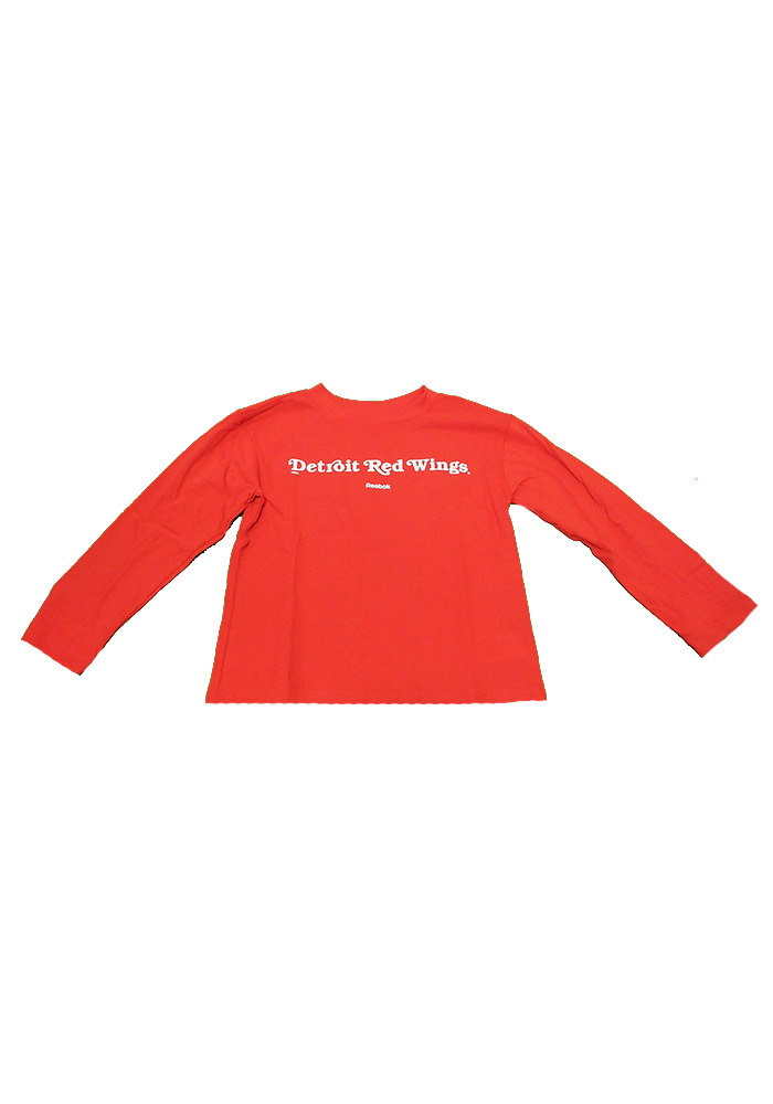 Detroit Red Wings Boys Red Boys 4-7 Rally Loud Long Sleeve T-Shirt - Image 1