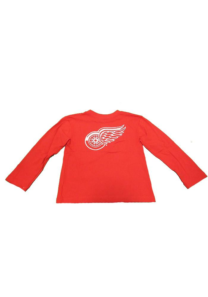 Detroit Red Wings Boys Red Boys 4-7 Rally Loud Long Sleeve T-Shirt - Image 3