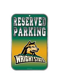 Wright State Raiders Plastic Parking Sign