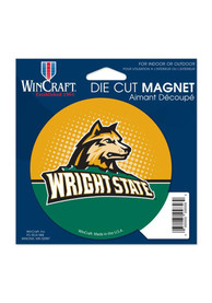 Wright State Raiders Die Cut Logo Magnet