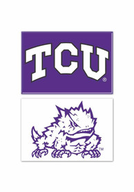 TCU Horned Frogs 2pk Rectangle Magnet