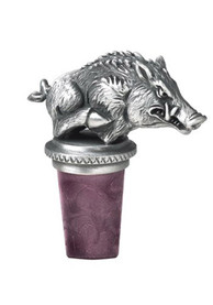 Arkansas Razorbacks Bottle Stopper Wine Accessory