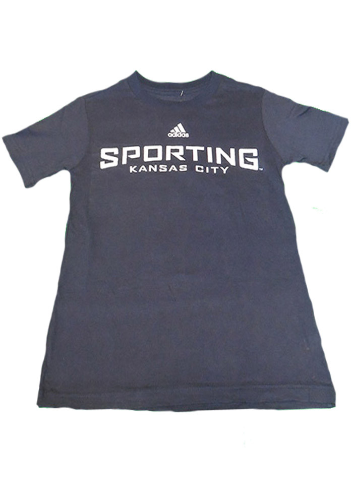 Sporting Kansas City Youth Blue Youth Wordmark T-Shirt