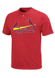 St Louis Cardinals Youth Red Youth Wordmark T-Shirt
