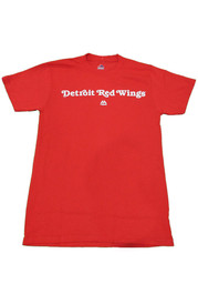 Detroit Red Wings Boys Red Boys 4-7 Rally Loud Short Sleeve T-Shirt