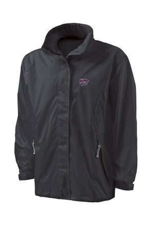 K-State Wildcats Youth Black Thunder Light Weight Jacket