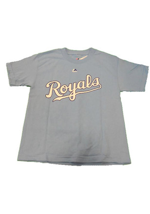 Eric Hosmer Outer Stuff KC Royals Kids Youth Eric Hosmer Light Blue Player Tee