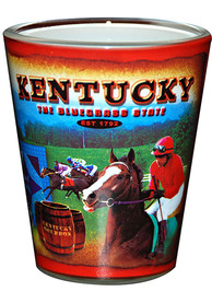 Kentucky Red Collage Shot Glass