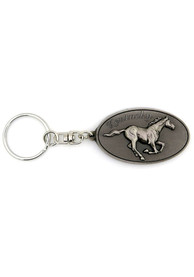 Kentucky Pewter Oval Keychain