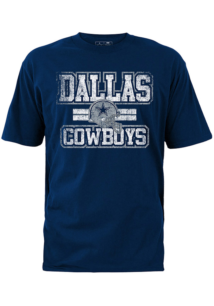Dallas Cowboys Navy Blue Inside Lines Short Sleeve T Shirt - Image 1