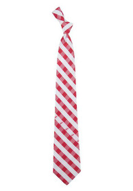 Detroit Red Wings Check Tie - Red