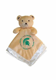 Michigan State Spartans Baby Security Bear Blanket - Brown