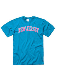 New Jersey Blue Neon Arch Tee