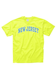 New Jersey Yellow Neon Arch Tee