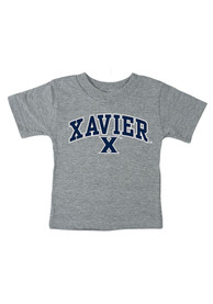 Xavier Musketeers Infant Arch T-Shirt - Grey