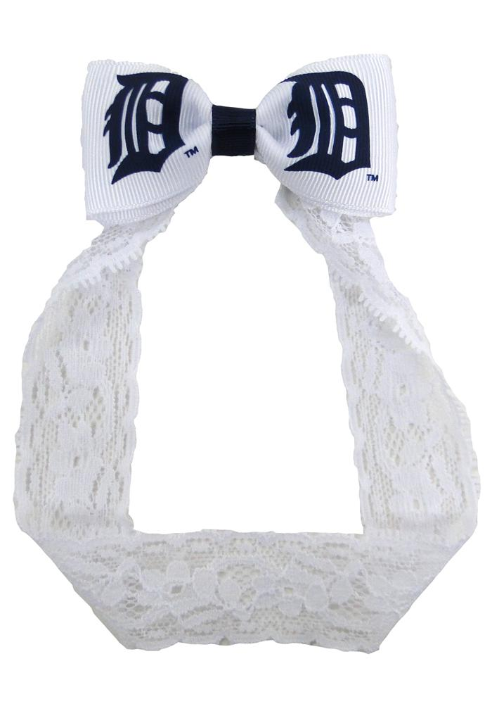 Detroit Tigers Lace Baby Headband - Image 1
