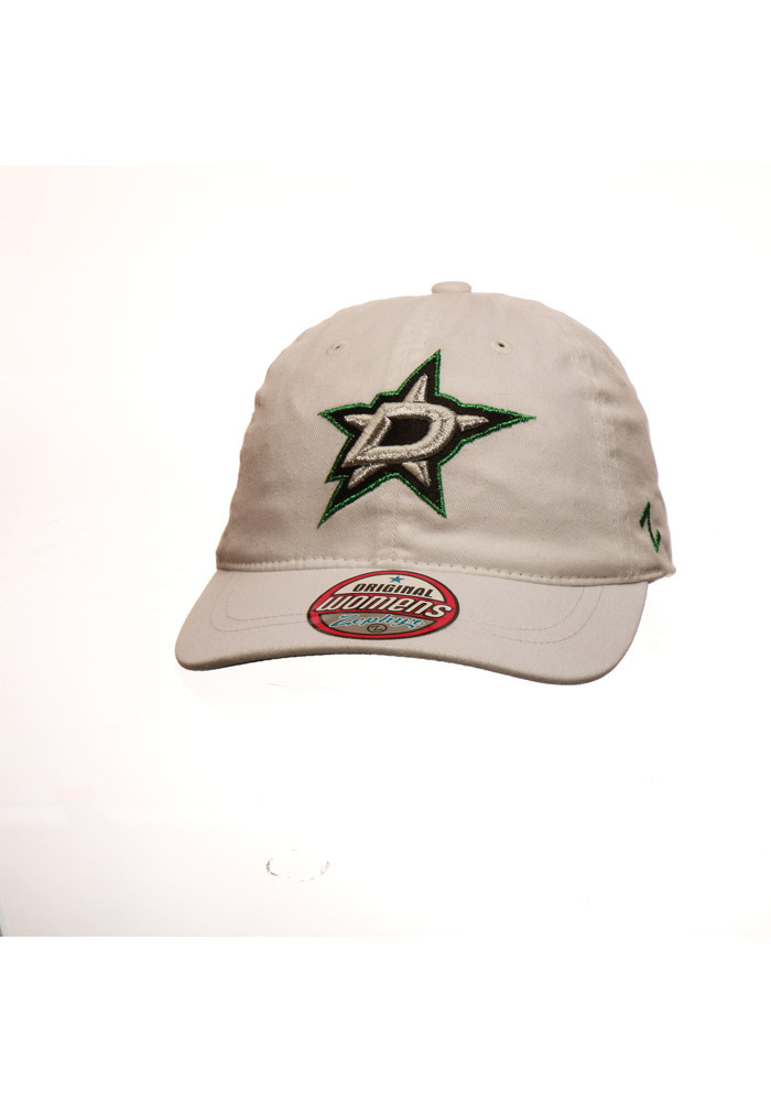 Zephyr Dallas Stars White Tomboy Womens Adjustable Hat - Image 1