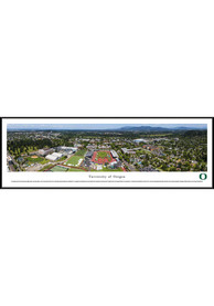 Oregon Ducks Campus Panorama Framed Posters