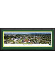 Oregon Ducks Campus Panorama Deluxe Framed Posters
