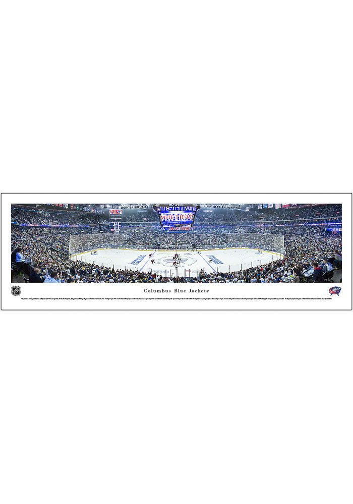 Columbus Blue Jackets Panorama Unframed Poster - Image 2